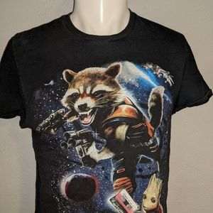 Guardians Of The Galaxy Logo Shirt Med Excellent